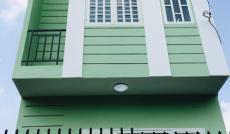 Nhà xây mới thiết kế đẹp đúc 1 trệt 1 lầu-DTSD: 80m2-sổ hồng riêng-giá chỉ: 870 triệu (TL)