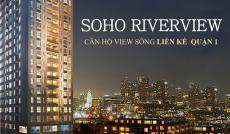 Bán căn hộ Soho tháng 10/2016 nhận nhà, còn căn góc, tầng cao view sông 2PN. Tặng ngay 50 triệu