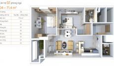 Cần bán lại căn hộ Shome - 60m2 - tháng 7 vô ở rồi, nhà hoàn thiện nội thất, 2 phòng, 2 wc