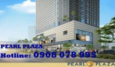 Cho thuê CH 5 sao Pearl Plaza mới 100%, nội thất đẹp – Hotline: 0908 078 995
