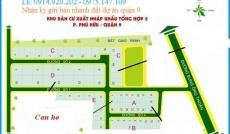 Bán đất Q9 dự án Xuất Nhập Khẩu (Tổng Hợp II), Phú Hữu, quận 9 – 324m2, sổ đỏ chính chủ