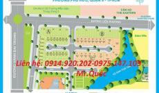 Bán đất mặt tiền Liên Phường, DT 6x20,3m, lô B15, giá 31tr/m2, cần bán nhanh