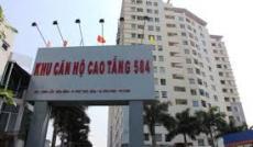 Cho thuê căn hộ Sacomreal 584, 3PN giá 9tr/tháng, dọn vào ở ngay.