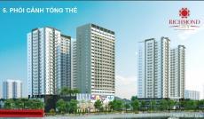 Căn hộ Richmond City trung tâm Bình Thạnh, giá 950tr, chiết khấu 3%. LH 0911255823