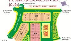 Bán đất dự án Điền Phúc Thành, đối diện công viên, vị trí đẹp, giá 21tr/m2
