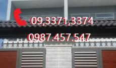 Bán Nhà Xây Mới 1trệt 2lầu,   DT: 4m x 20m. P Thạnh Lộc Q12 Giá: 1,98 tỷ Hỗ trợ vốn 60% zalo 09 3371 3374.