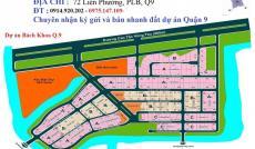 Cần bán lô đất B1, dự án Bách Khoa, Phú Hữu, Quận 9, giá 21 tr/m2, DT 210m2