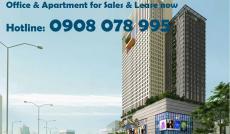 Bán văn phòng hạng A quận Bình Thạnh 176m2 view quận 1 – Hotline: 0908 078 995