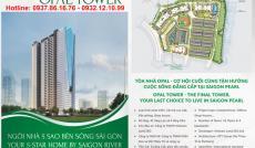 Nhận book căn và vị trí CH CC Opal Sài Gòn Pearl Gía khởi điểm 36.69 tr/m2 – CK 5-6% - 0932.121.099