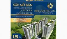 Bán căn hộ Him Lam Phú An, Q. 9, 2PN, diện tích 72m2, giá 1.5 tỷ