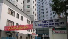 Cần bán căn hộ chung cư Tôn Thất Thuyết, Q4, 40m2, 1 phòng ngủ, 1.2tỷ, sổ hồng