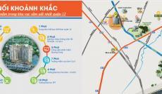 Căn hộ cao cấp chỉ 850 triệu/ 2 phòng ngủ nằm ngay công viên phần mềm Quang Trung