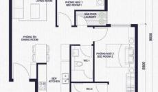 Masteri Millennium mở bán căn hộ 1- 3pn, giá 45tr/m2. Ck 11,5%, vay 0% lãi suất