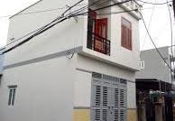 Cho thuê nhà hẻm ba gác gần chợ Tân Quy, Q. 7, giá 9tr /th