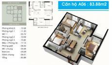 Cần bán căn hộ Topza Center, 84m2, 3PN, căn góc, Giá 1.8 tỷ. LH: 0902.456.404.
