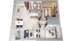 Cần bán căn hộ IDICO 2PN, DT 61m2, view đẹp. LH: 0902456404