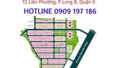 Bán đất dự án Hưng Phú, quận 9, giá tốt DT 120m2, giá 18.3tr/m2. LH 0909 197 186