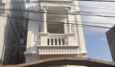 Bán nhà mới đẹp, đường nhựa 12m, Huỳnh Tấn Phát, Nhà Bè, DT 5,6x17m, 1T 2L, sân thượng. Giá 3,8tỷ