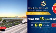 90% căn hộ Him Lam Phú An block B, đã được đặt chỗ trong ngày đầu tiên