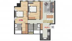 Chính chủ cần bán gấp căn hộ Pearl Plaza 2 PN, căn nằm vị trí góc nên rất đẹp. LH 0909 255 622