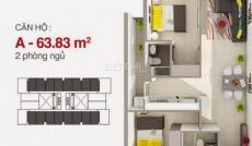 Trả trước 50 triệu sở hữu ngay căn hộ mặt tiền Hòa Bình, Bình Tân, CK 18%, LH: 0909759112