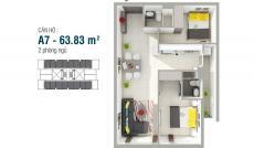 Bán căn hộ chung cư tại Dự án Căn hộ 8X Rainbow, Bình Tân, Hồ Chí Minh diện tích 64m2  giá 1.3 Tỷ