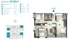 Sở hữu căn hộ Soho Premer vừa để ở và thu về 8 triệu/tháng
