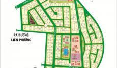 Bán đất dự án Phú Nhuận q9, DT 283m, view sông, giá 25tr/m2
