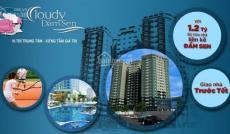 Hot, căn hộ Cloudy Đầm Sen chỉ 16tr/m2, nằm ngay TT Q.Tân Phú, sở hữu 2 mặt tiền Trịnh Đình Trọng