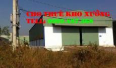 Cho thuê nhà xưởng đường 18B quận Bình Tân(200m2)