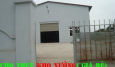 Cho thuê nhà xưởng đường số 6 quận Bình Tân(bênh kia QL1A;đối diện trạm thu phí An Sương) (200m2)