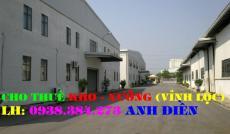 Cho thuê nhà xưởng đường Liên Ấp 1-2 Quận Bình Tân(200m2)