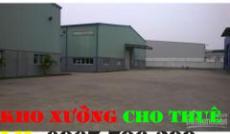 Cho thuê nhà xưởng đường Liên khu 5-10-11 quận Bình Tân(250m2)