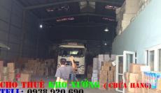 Cho thuê nhà xưởng đường số 10 quận Bình Tân(250m2)