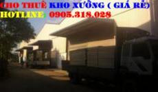 Cho thuê nhà xưởng đườngLiên Khu 5-6(bênh kia QL1A;đối diện trạm thu phí An Sương) quận Bình Tân(250m2)