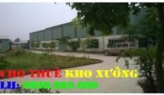 Cho thuê nhà xưởng đường Phạm Đăng Gĩang quận Bình Tân (250m2)