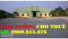 Cho thuê nhà xưởng đường Hồ Văn Long Quận Bình Tân(250m2)
