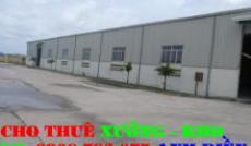 Cho thuê nhà xưởng đường 1B Quận Bình Tân(250m2)