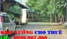 Cho thuê nhà xưởng đường Liên khu 10-11 quận Bình Tân(300m2)