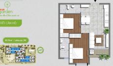 Bán căn hộ An Gia Garden chỉ 1,48 tỷ (2 PN, 2 WC)