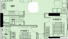 Cần tiền bán gấp căn hộ Topaz Center, diện tích 74m2, thiết kế 2PN, 2WC