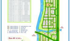 Cần bán nền nhà phố dự án Sadeco Ven Sông, Tân Phong giá rẻ, 0943949191
