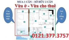 Bán căn 3PN Soho Premier, tầng 14, 94m2, Xô Viết Nghệ Tĩnh, Q. Bình Thạnh