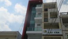 $Cho thuê nhà góc Lê Thị Riêng - Bùi Thị Xuân, Q.1, DT: 6x18m, trệt, 4 lầu. Giá: T/L