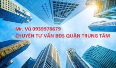 1713.Bán căn góc Võ Văn Tần, Q3, đoạn 2 chiều,12x12M, 8 lầu, giá 50 tỷ