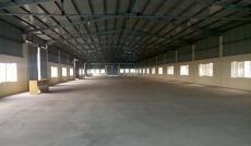 Cho thuê xưởng MT QL 1A gần ngã tư Bình Phước, Q. Thủ Đức, DT: 25x65m, TDT: 1625m2. 60 nghìn/m2/th