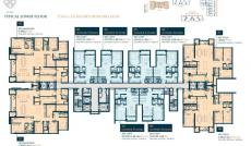 Cần bán 3PN duplex Feliz en vista, 133m2, giao thô, giá 5.8 tỷ. LH 0938381412
