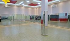 Cho thuê phòng nhảy diện tích 90m2, wifi miễn phí
