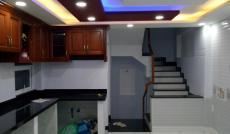$Cho thuê nhà mới xây MTNB XVNT, Q. BT, DT: 4x11m, 1 trệt, 1 lửng, 3 lầu, st. Giá: 33tr/th