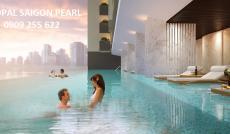 Bán lỗ 200 triệu, căn hộ 2PN Saigon Pearl, tầng cao